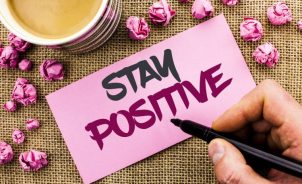 how to remain positive in the midst of turmoil